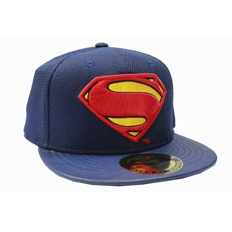 BATMAN vs SUPERMAN - Casquette Superman Logo