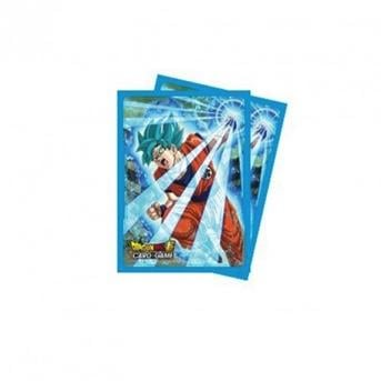 DRAGON BALL - Pack Protège Cartes 65pcs - Goku Blue