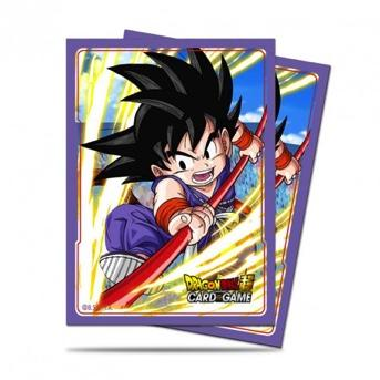 DRAGON BALL - Pack Protège Cartes 65pcs - Explosive Spirit Son Goku