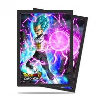 DRAGON BALL - Pack Protège Cartes 65pcs - God Charge Vegeta