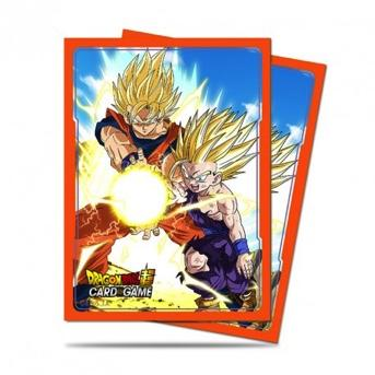DRAGON BALL - Pack Protège Cartes 65pcs - Father & Son Kamehameha