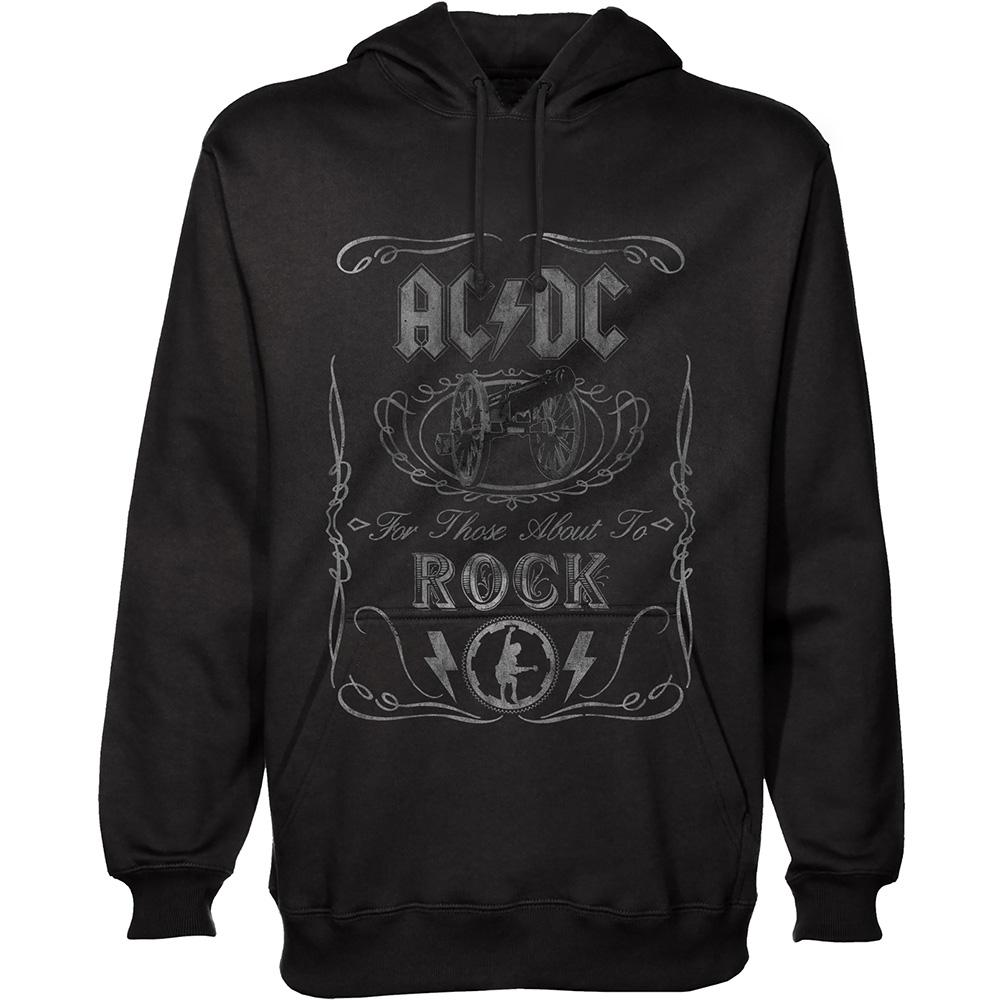 AC/DC - Sweat Hoodies - Cannon Swig (L)