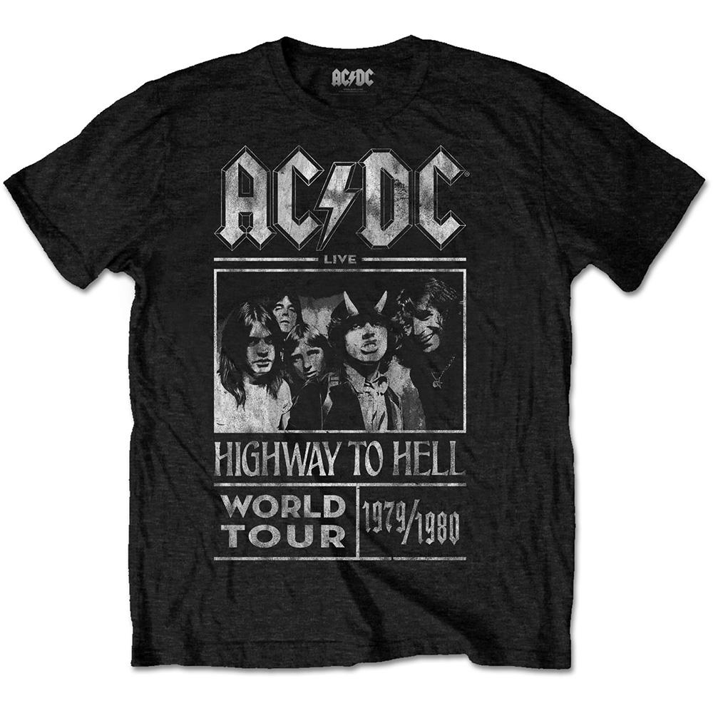 AC/DC - T-Shirt RWC - Highway to Hell Tour 1979/1980 (L)