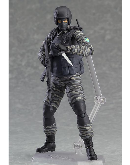 METAL GEAR SOLID - Figurine Gurlukovich Soldier - Figma