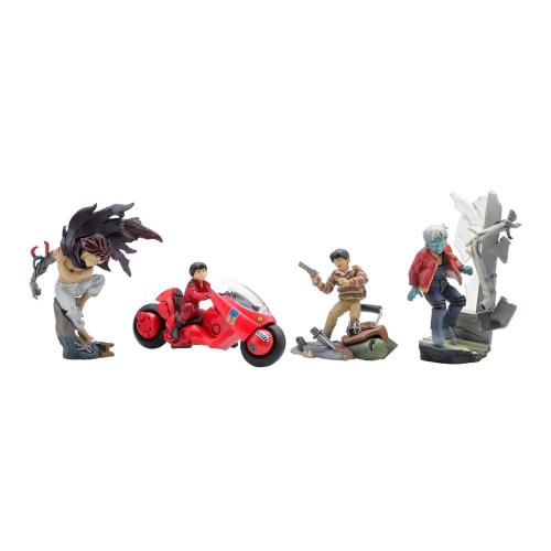 AKIRA - Display figurines MiniQ vol 1 - Kaneda (6pcs)