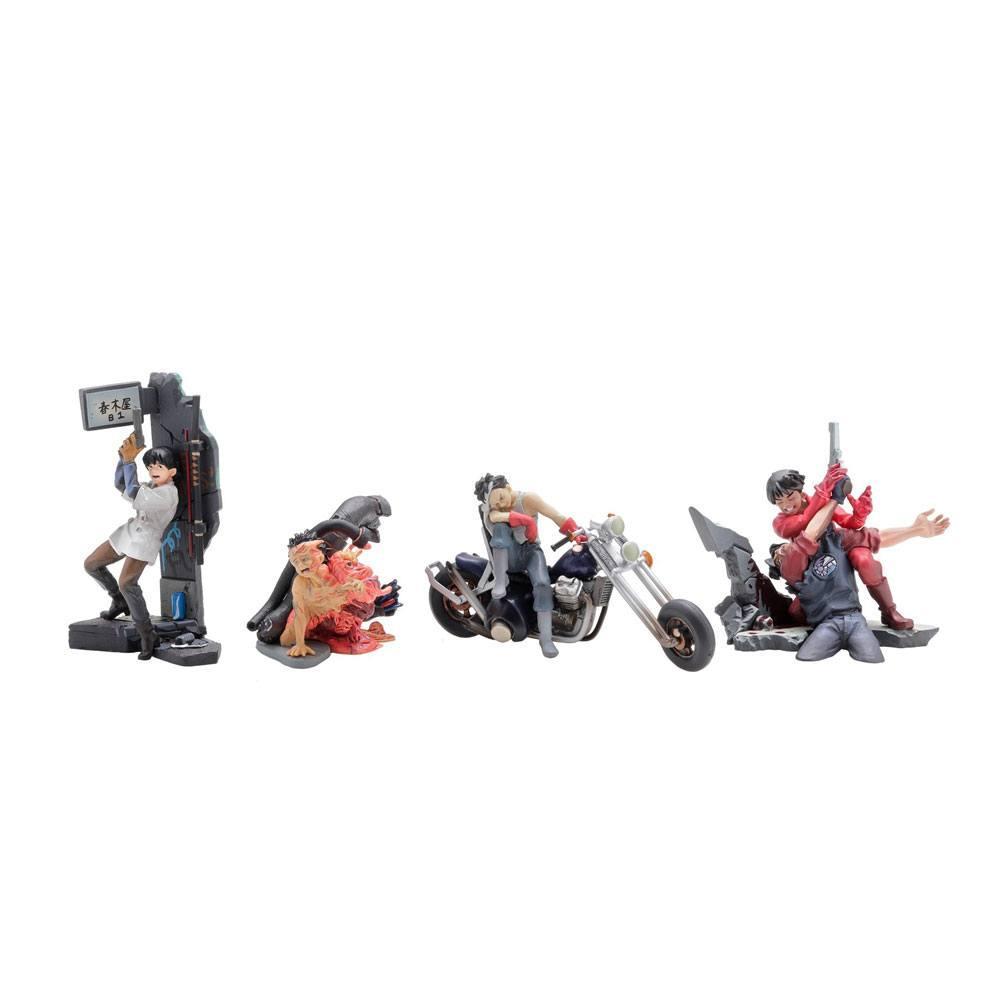 AKIRA - Display figurines MiniQ vol 2 - Tetsuo (6pcs)