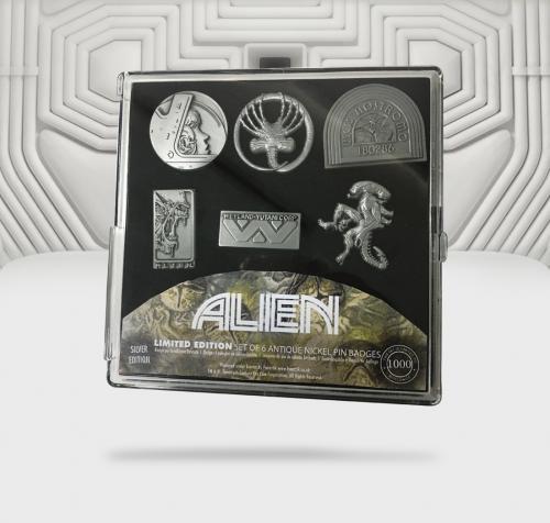 ALIEN - Set de 6 Pin's édition limitée