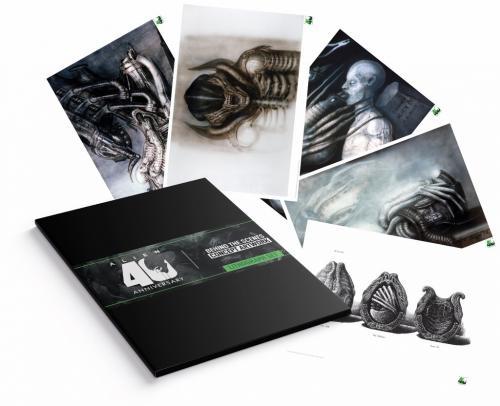 ALIEN - 40ème anniversaire - Pack de 5 lithographies édition limitée