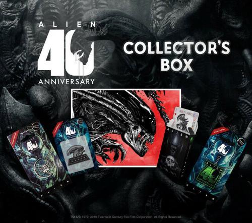 ALIEN - 40ème anniversaire - Collector box