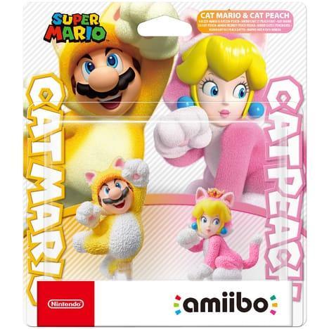 AMIIBO Cat Mario & Cat Peach_1