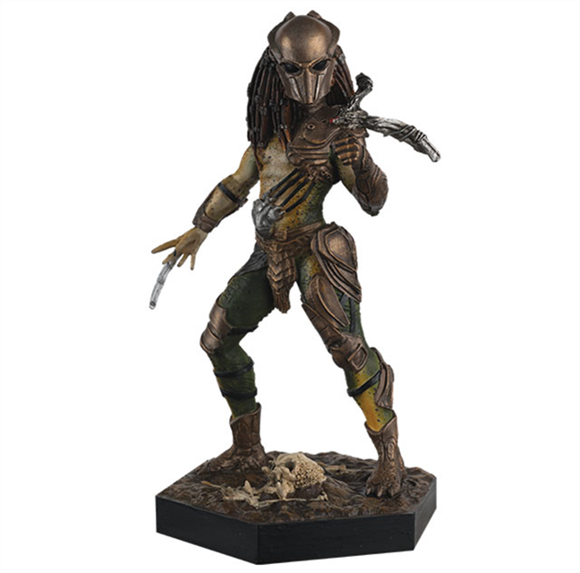 ALIEN & PREDATOR - Figurine Collection 1/16 - Falconer Predator 13.5cm