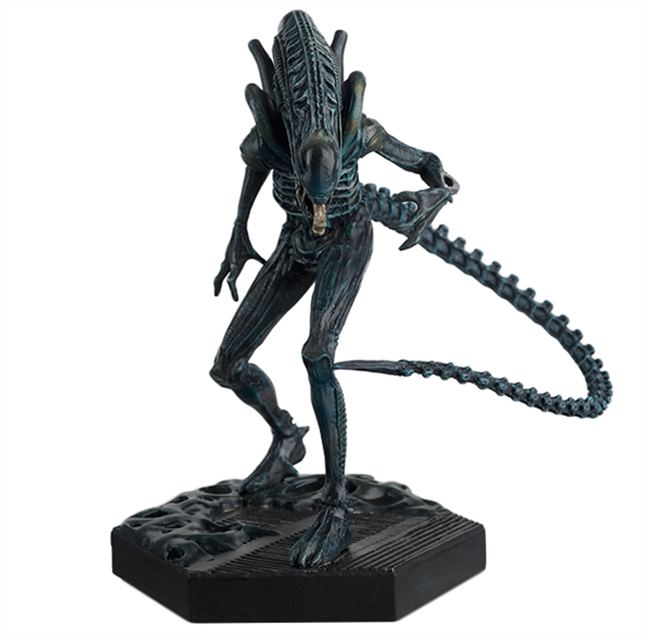 ALIEN & PREDATOR - Figurine Collection 1/16 - Alien Warrior - 12.9cm