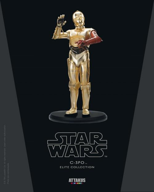 STAR WARS - ELITE Collection - Red Arm C-3PO Version 3 - 18cm