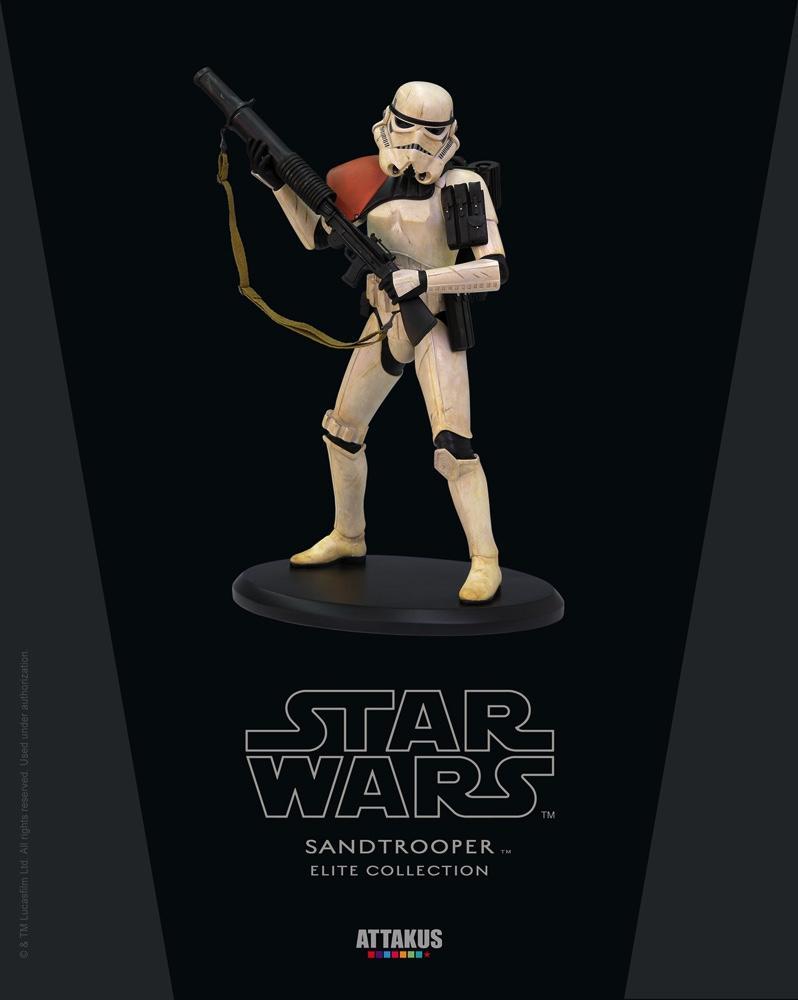 STAR WARS - ELITE Collection - Sandtrooper - 17cm