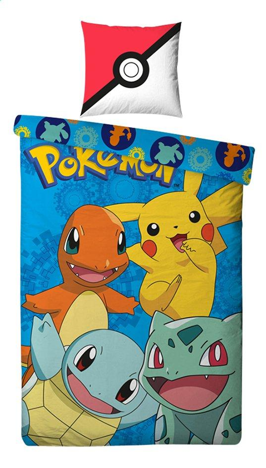 NINTENDO - Parure de lit 140X200 - Pokemon '100% Cotton'