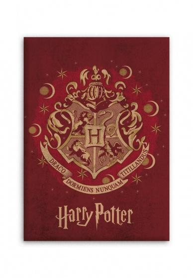HARRY POTTER - Plaid Polaire 100% Microfibre - 70x140cm - Hogwarts