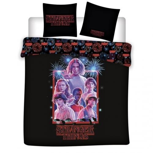 STRANGER THINGS - Parure de lit 240X220 - Team '100% microfibre'