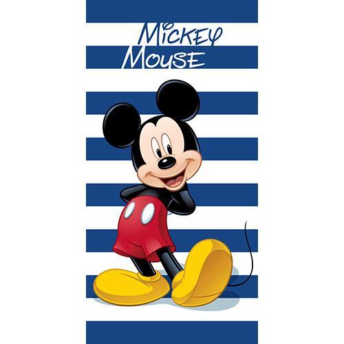 DISNEY - Serviette de Plage 100% Microfibre - 70x140cm - Mickey Mouse