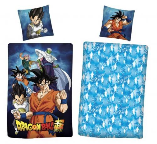 DRAGON BALL - Parure de lit 140x200cm Dragon Ball Super '100% Coton'