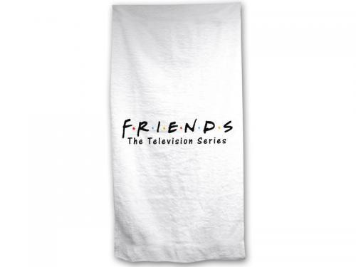 FRIENDS - Serviette de Plage 100% Coton - 70x140cm - Friends