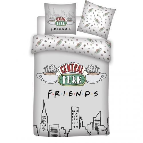 FRIENDS - Parure de lit 140x200cm - Friends '100% microfibre'