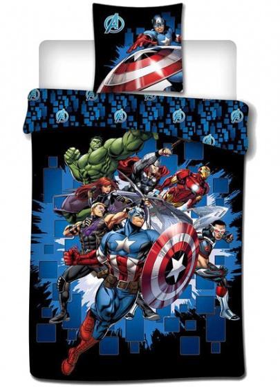 MARVEL - Avengers - Parure de lit 140x200cm - '100% microfibre'
