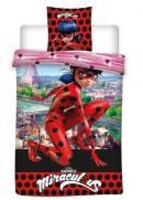 MIRACULOUS - Parure de lit 140X200 - Ladybug '100% Poly'