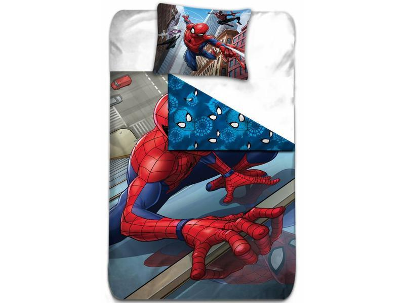 MARVEL - Parure de lit 140X200 - Spiderman - Vers 2 '100% Poly'