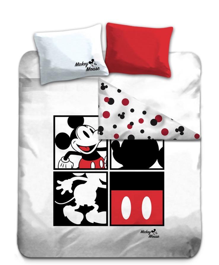 DISNEY - Parure de lit 240X220 - Mickey Square '100% Cotton'_2