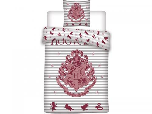 HARRY POTTER - Parure de lit 140X200 - Poudlard '100% Cotton'