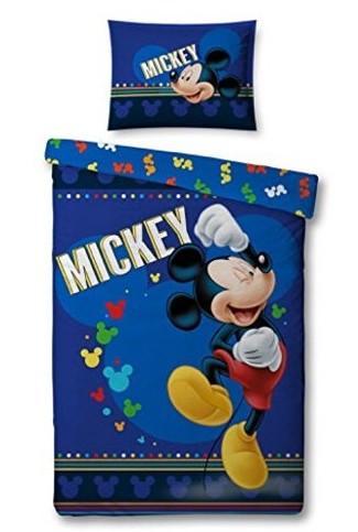 DISNEY - Parure de lit 140X200 - Mickey '100% Poly'