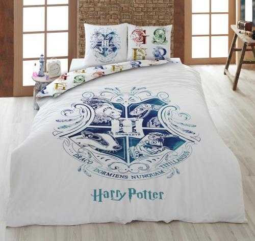 HARRY POTTER - Parure de lit 140x200cm - Hogwarts W. '100% microfibre'