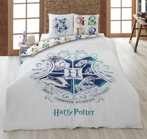 HARRY POTTER - Parure de lit 200x200cm - Hogwarts W. '100% Coton'