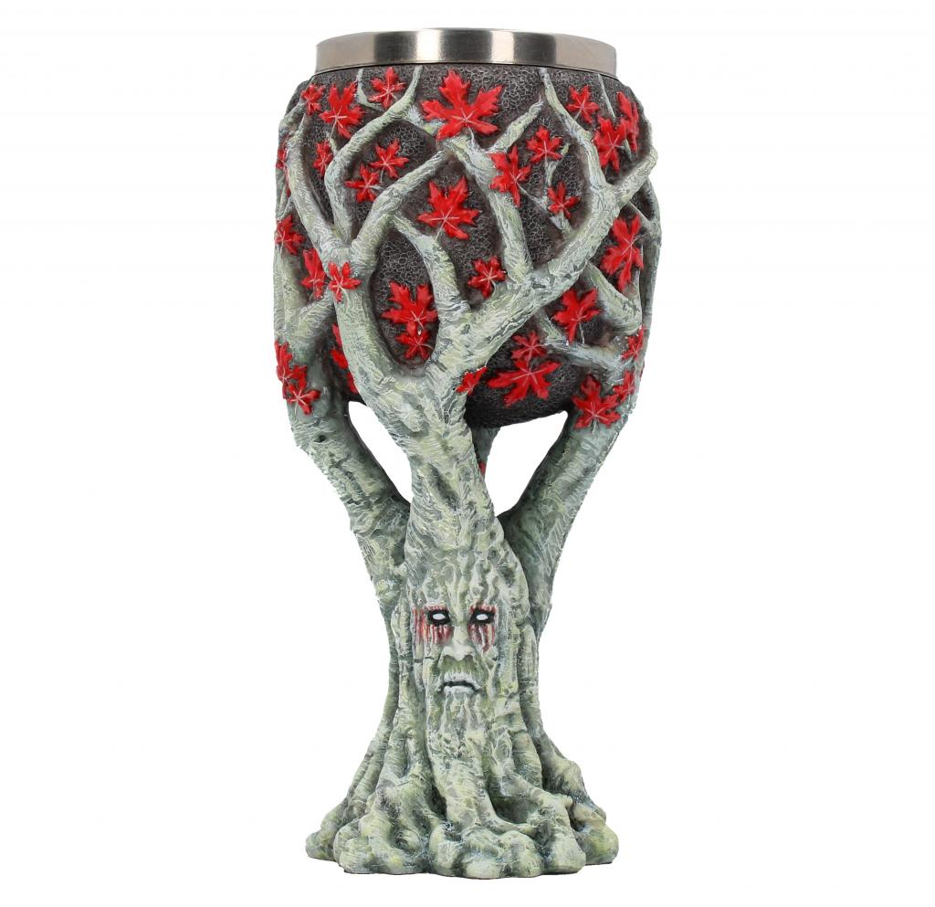 GAME OF THRONES - Weirwood Tree Goblet - 17,5 cm