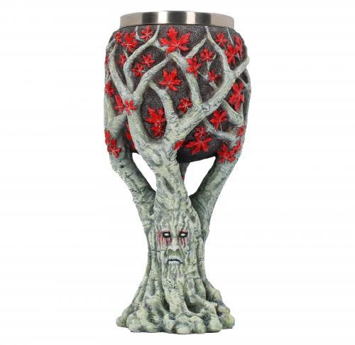 GAME OF THRONES - Weirwood Tree Goblet - 17,5 cm