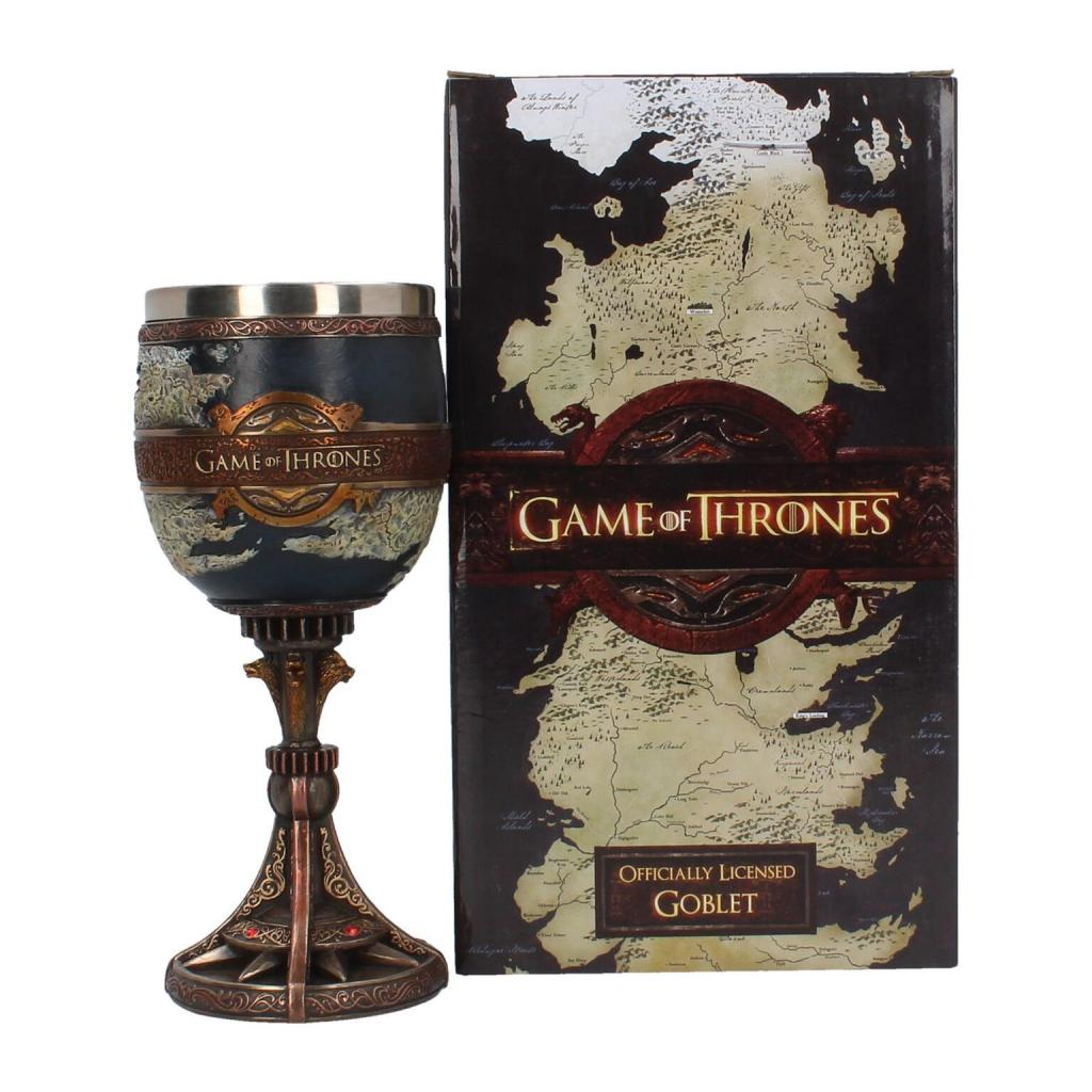GAME OF THRONES - The Seven Kingdoms Goblet - 17,5 cm