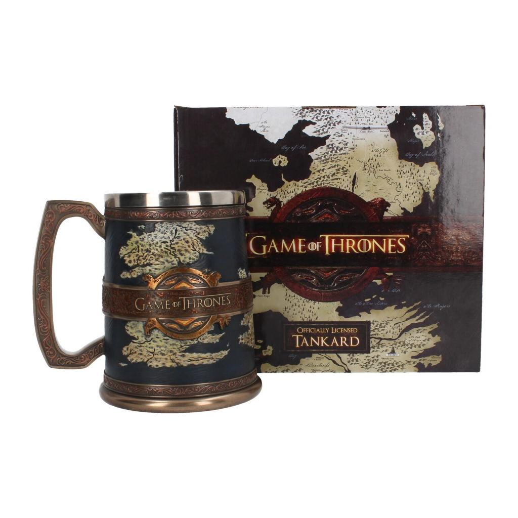 GAME OF THRONES - The Seven Kingdoms Tankard - 14 cm