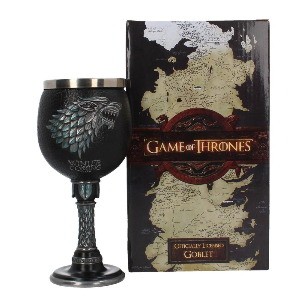GAME OF THRONES - Winter is Coming Goblet - 17,5 cm