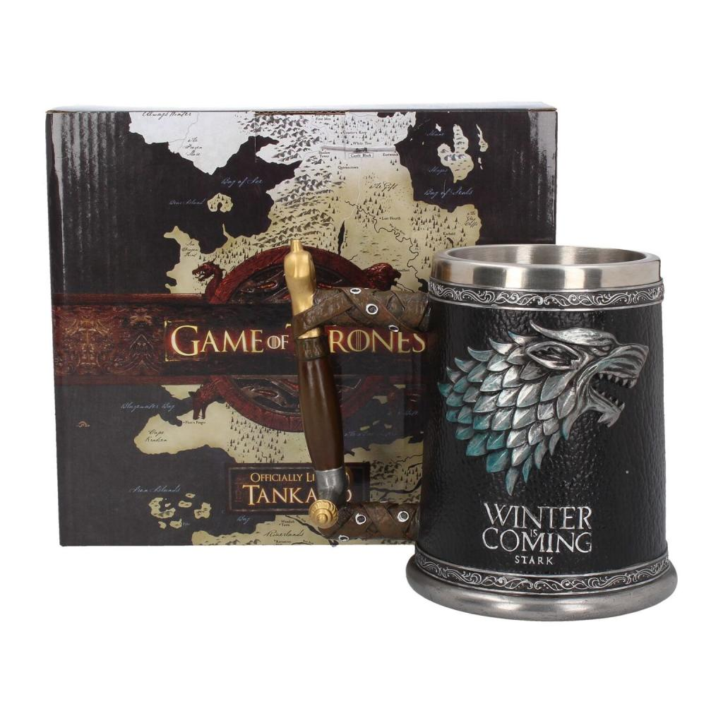 GAME OF THRONES - Winter is Coming Tankard - 14 cm