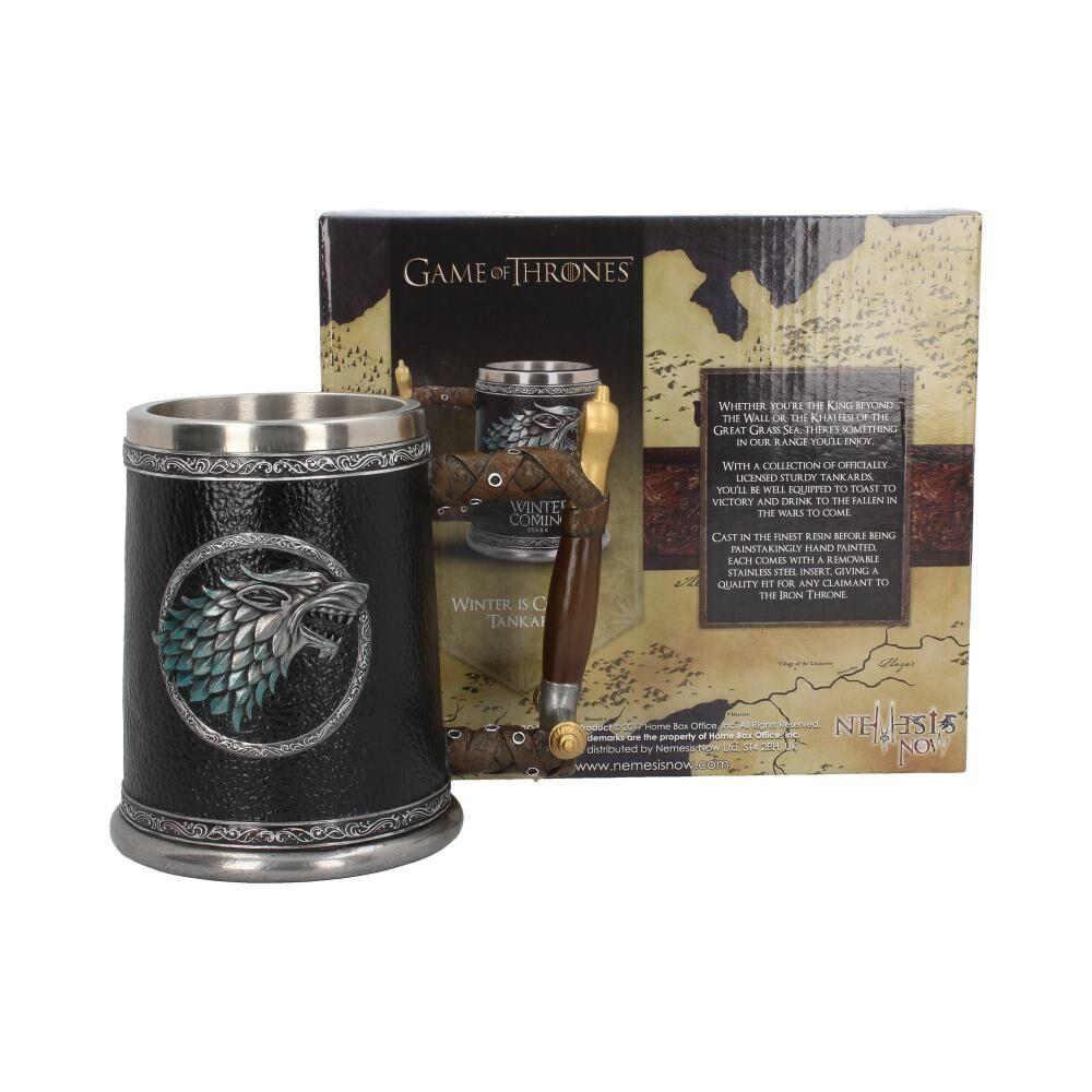 GAME OF THRONES - Winter is Coming Tankard - 14 cm_2