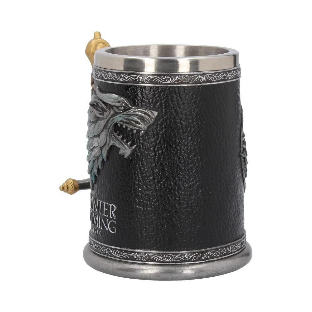 GAME OF THRONES - Winter is Coming Tankard - 14 cm_3