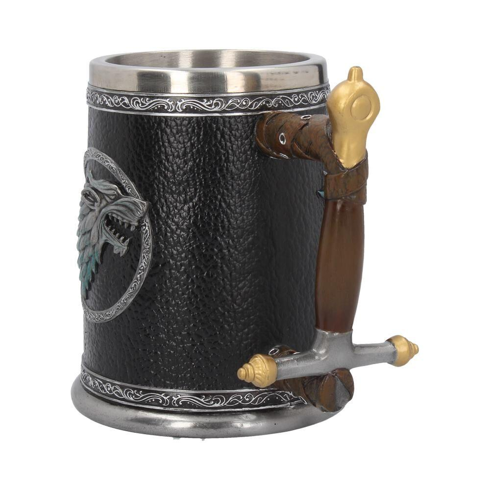 GAME OF THRONES - Winter is Coming Tankard - 14 cm_5
