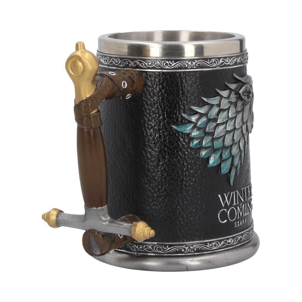 GAME OF THRONES - Winter is Coming Tankard - 14 cm_6
