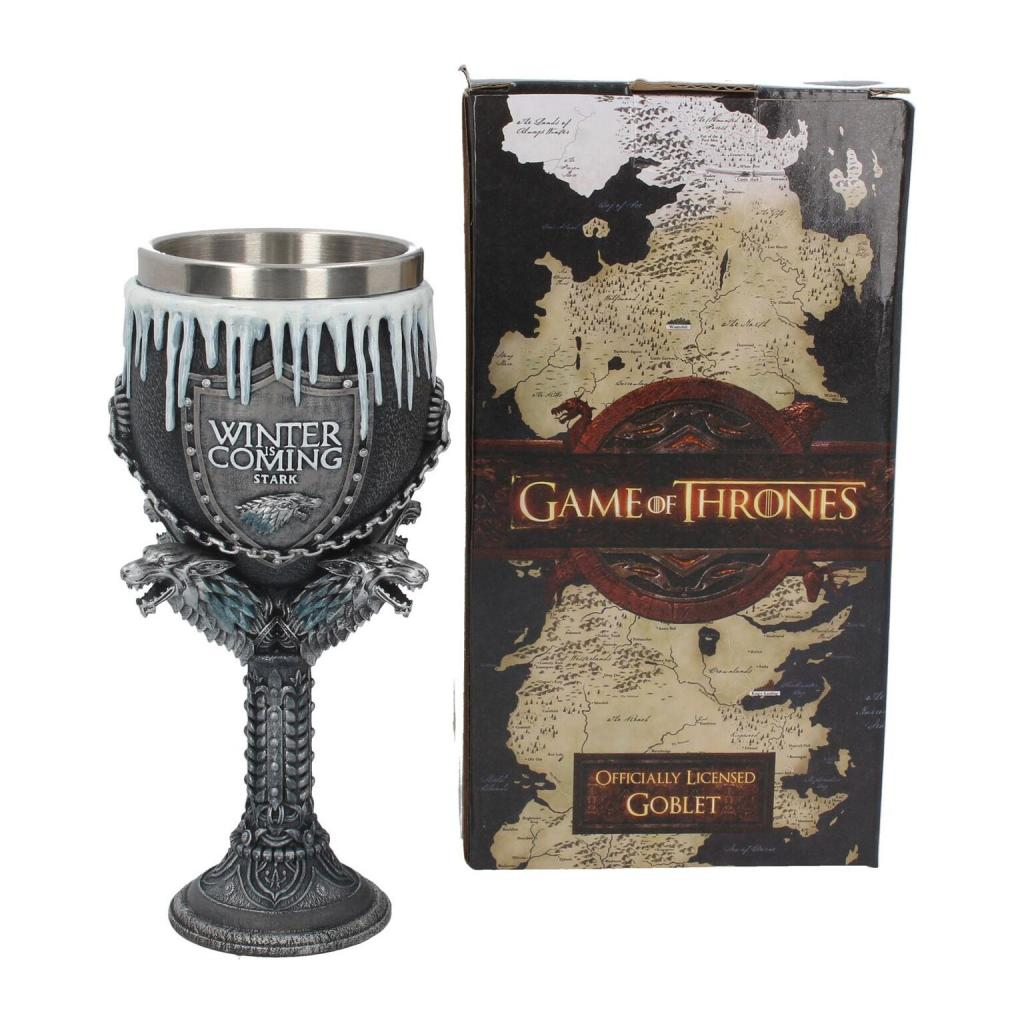 GAME OF THRONES - House Stark Goblet - 17,5 cm