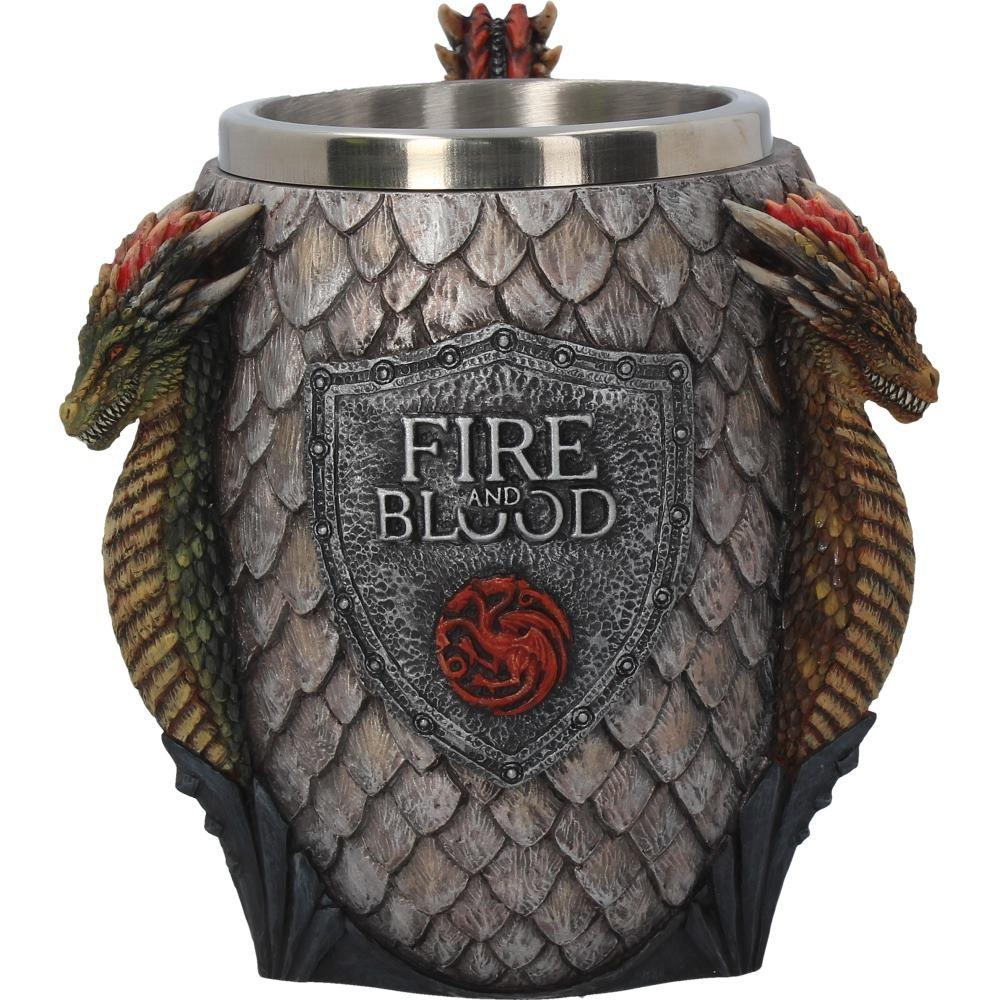 GAME OF THRONES - House Targaryen Tankard - 14 cm