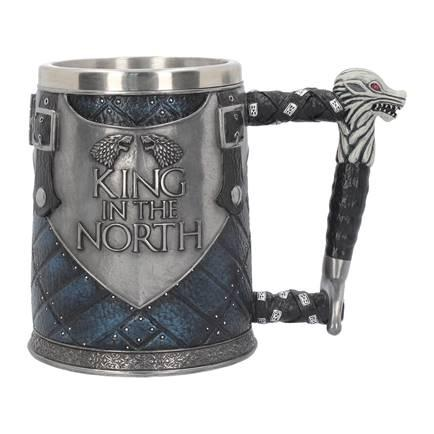 GAME OF THRONES - King in the North Tankard - 14 cm