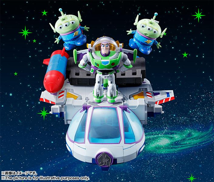 TOY STORY - Diecast Chogokin Buzz Space Ranger PACK 5 Figures - 20cm