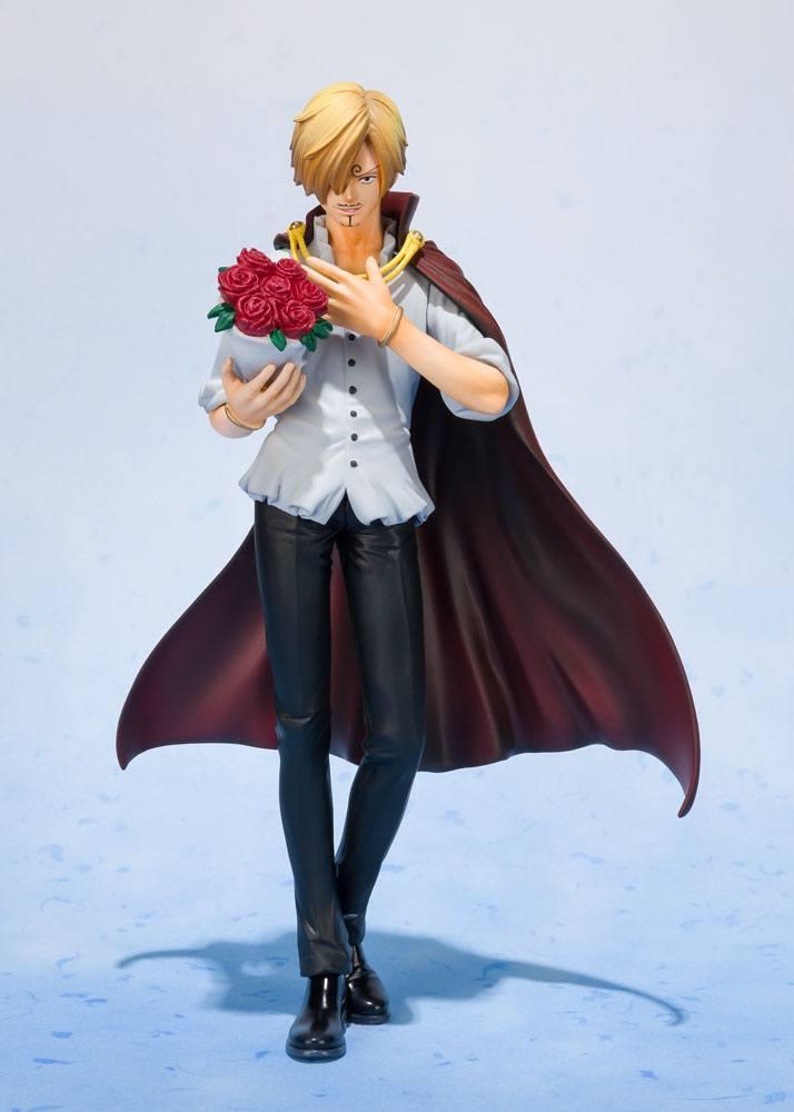 ONE PIECE - Sanji Whole Cake Island Ver. Tamashii - 17cm (Bandai)