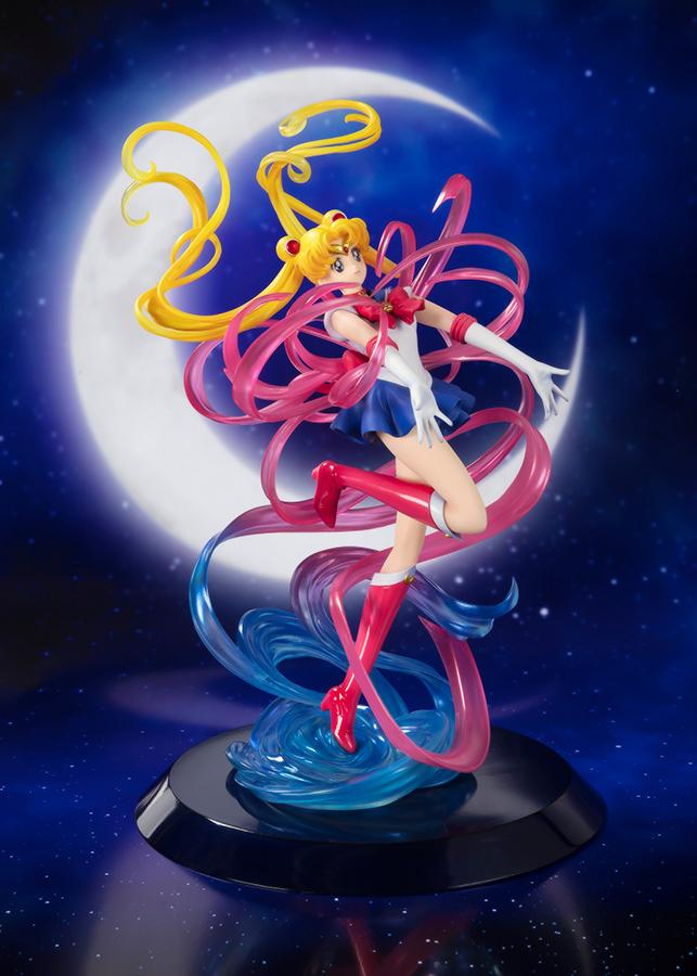 SAILOR MOON - Zero Chouette Moon Crystal Figuarts - 25cm (Bandai)