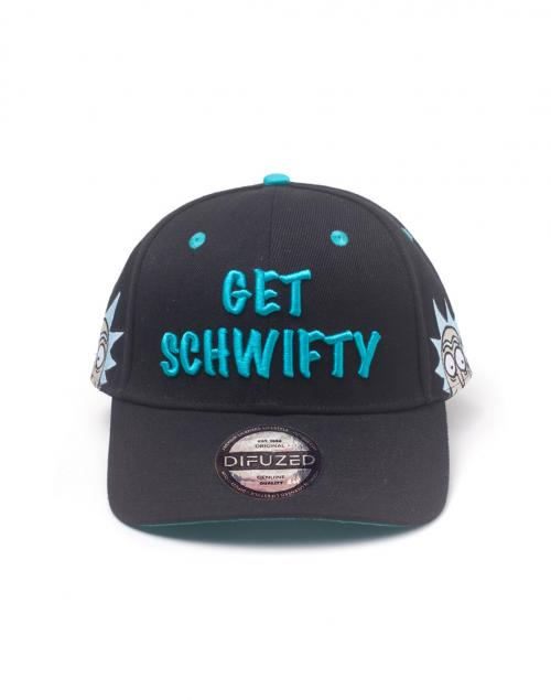 RICK & MORTY - Casquette - Get schwifty
